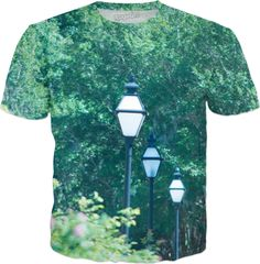 Light Posts in the Park T-Shirt Visit ShirtStoreUSA.com for this and TONS of others!