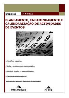 0503. Planeamento, encadeamento e calendarização de act em eventos