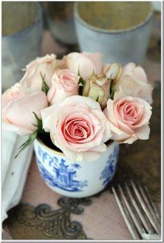Pink Cut Roses