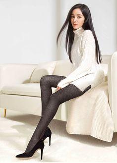 Beautiful Japanese Girl, Beautiful Asian Women, Beautiful Legs, Ulzzang Fashion, Asian Fashion, Women's Fashion, Fashion Tights, Great Legs, Cute Asian Girls