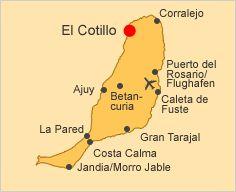 Unterkünfte Fuerteventura - El Cotillo