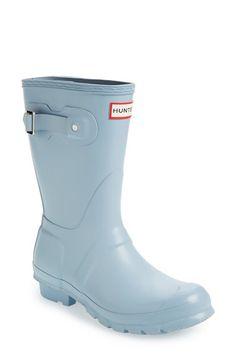 Hunter Hunter 'Original Short' Rain Boot (Women) available at #Nordstrom