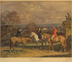 His Old Demesne by Sir Alfred J Munnings