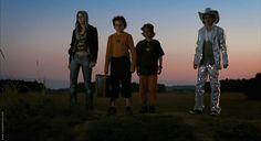 Vanessa, Raban, Joschka and Leon