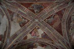 Lorenzo Monaco - Profeti - affresco - 1420-1424 - Volta - Cappella Bartolini Salimbeni - Firenze, Basilica della S. Trinità