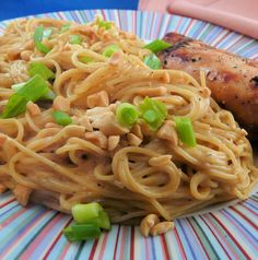 Its an easy dish with pantry items, and you can add some cooked chicken.  From Everyday with Rachael Ray.