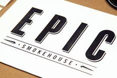EPIC SMOKEHOUSE by ROCK3RS , via Behance