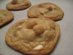 Recettes de Flipp: Biscuits au chocolat blanc et noix de macadam