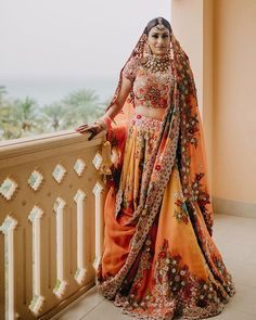 Where To Buy Gorgeous Anamika Khanna Lehengas From! wedding jewellery Where To Buy Anamika Khanna Lehengas From! Indian Bridal Outfits, Indian Bridal Makeup, Indian Bridal Wear, Indian Dresses, Bridal Dresses, Wedding Dress, Wedding Mandap, Wedding Stage, Wedding Receptions