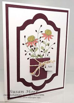 Flowering Fields, Party Wishes, Sale-a-bration, Stampin Up, susanstamps.wordpress.com