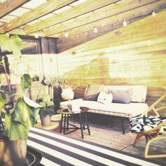 Outdoor Sofa, Outdoor Furniture, Outdoor Decor, My House, Home Decor, Decoration Home, Room Decor, Home Interior Design, Backyard Furniture