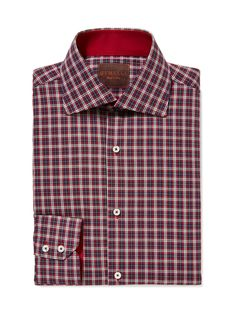 Plaid Cotton Dress Shirt by GEMELLI at Gilt www.GemelliShop.com
