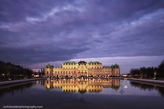 The Belvedere Palace in Vienna Cityscapes, Vienna, Palace, Gallery, Roof Rack, Palaces, Castles, Urban Landscape
