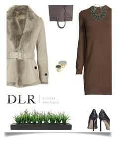 """DLR boutique com"" by katymill ❤ liked on Polyvore featuring Burberry, Jimmy Choo, Yves Saint Laurent, Marni, Vintage and dlrboutiquecom"