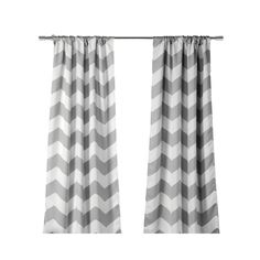 Lala + Bash's Fifi Thermal Blackout Curtains are the perfect addition to your child's bedrrom. A trendy, yet classic chevron print will last for years to come.