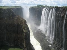 Victoria Falls (or Mosi-oa-Tunya) in Zambia, Africa..  Visit us on Facebook:  https://www.facebook.com/groups/imagesfromallovertheworld