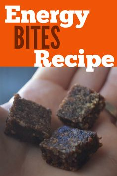 Kick off your morning with a bang with these 6-ingredient energy bites! The recipe is a piece of cake!