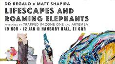 Dd Regalo x Matt Shapira - Lifescape and Roaming Elephants @ Hanbury Hall - 19-November https://www.evensi.uk/dd-regalo-x-matt-shapira-lifescape-and-roaming-elephants/230594635