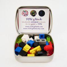traveling Lego tin