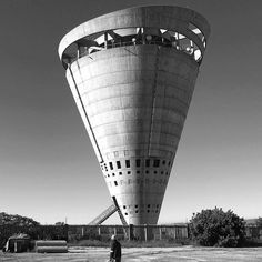 Grand Central Water Tower, a piece of urban sculpture, created by GAPP Architects + Urban Designers in Midrand, South Africa.