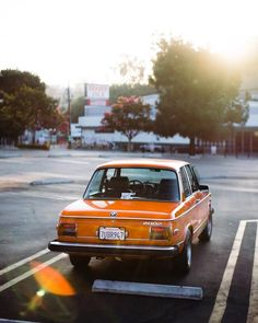 Early morning shoots are always worth getting up for. Bmw 2002, Bmw Classic, Men With Street Style, Car Makes, Laguna Beach, Car Photos, Old Cars, Motor Car, Vintage Cars