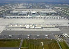 Aerial view of Munich International Airport. - Image - Airport Technology