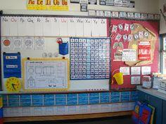 Sailing Through 1st Grade: Classroom Tour Linky Party Math Marina!