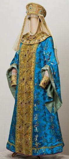 Русский княжеский костюм. Мария Усова. 001.jpg