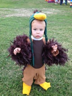 Super easy halloween costume ty duck beanie baby do it yourself mallard duck costume duck dynasty pinterest solutioingenieria Gallery