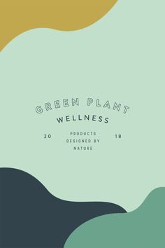 Green Plant Wellness Brand and Packaging Design by Viola HIll Studio branding Logo Inspiration, Packaging Design Inspiration, Web Design, Layout Design, Brand Design, Book Design, Cover Design, Design Art, Design Ideas