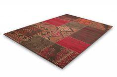 DF0062012-395 Rood Vloerkleed - Deco & Fashion Sale