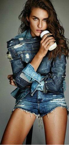 put my blue jeans on ♥