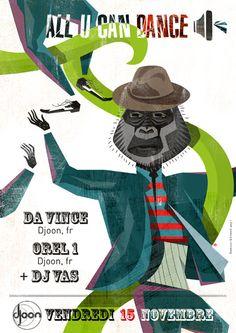 ALL U CAN DANCE - 15 Novembre 2013
