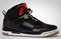 Jordan Spizike | Black, Copper, Beige & Red