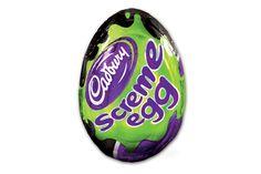 Cadbury Screme Egg... OOOooooooooo i'm scared!!!!
