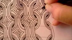 How to draw tanglepattern MI2