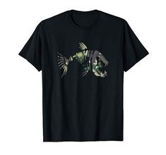 Cool Fish, Fishing T Shirts, Bass, Amazon, Sexy, Mens Tops, Design, Fashion, Moda