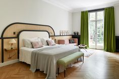 House Tour :: On Trend Materials & Classic Accents Make for a Modern Parisian Apartment