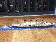 Titanic nanoblock. Whoooaa!