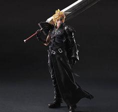 Final Fantasy Action Figure - Cloud Strife Model