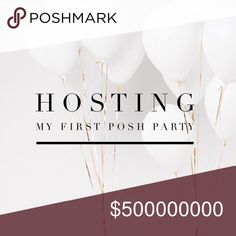 Hosting on 1/18 Come join me as I host my first posh party on 1/18/18 at 4pm PST!!! I will post the theme here as soon as I know what it is. If you would like to be considered for a Host Pick leave me a comment! Your items must be Posh compliant. Please share! Other