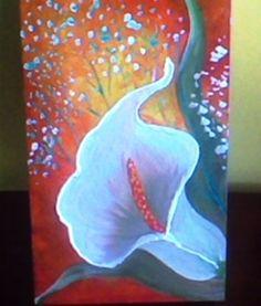 Caixa Pintada Floral