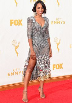 Kerry Washington e as outras musas que arrasaram no red carpet do Emmy Awards, que rolou ontem.