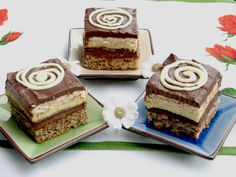 Retete culinare : Prajitura cu vanilie si ciocolata, Reteta postata de Ela68 in categoria Prajituri