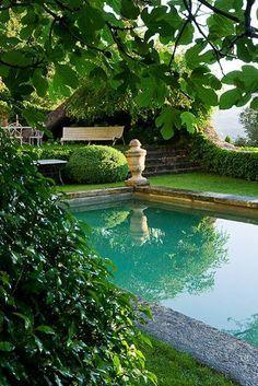 Neoclassical garden.