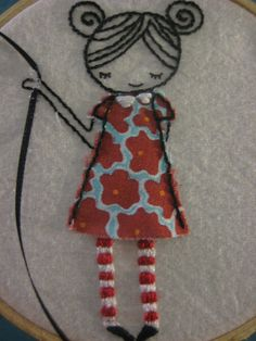girl with kite by snifferooski, via Flickr