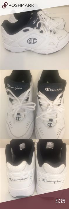 952079f7318166 🔥🔥🔥🔥🔥champion men s sneakers 🔥🔥🔥🔥🔥🔥 Brand new champion white men s  prime cross trainer sneakers no box size Champion Shoes Sneakers