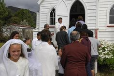 First communion and confirmation at church in Panguru First Communion, Confirmation, New Zealand, The Past, History, Maori, House, First Holy Communion, History Books
