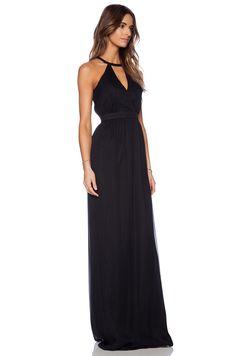 Jay Godfrey Dallenbach Backless Gown in Black | REVOLVE