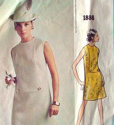 Vintage Vogue Americana Designer Teal Traina 1886